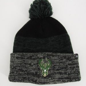 47Brand Knit Milwaukee Bucks Hat